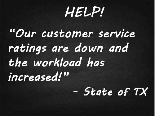 State of TX Customer Service Team