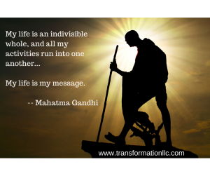 Gandhi Quote - Anxiety Blog