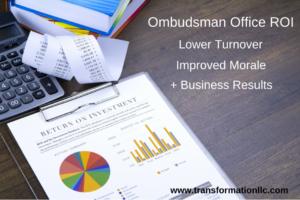 Ombudsman Office ROI